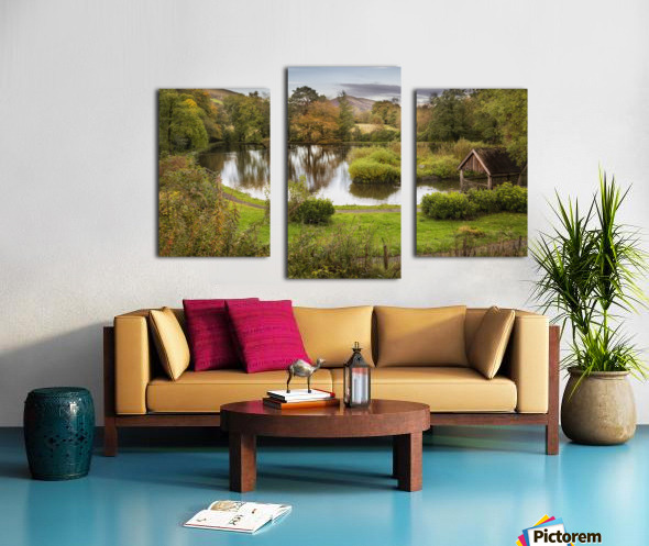 Craig-y-Nos Country park Canvas print