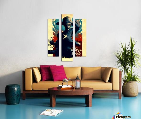 Luffy ONE PIECE Canvas print