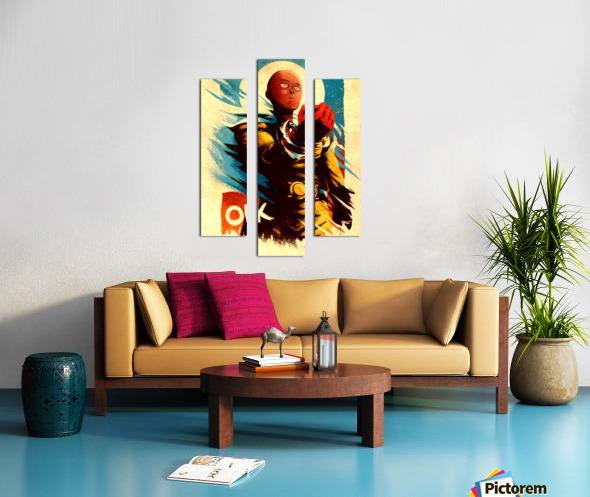 Saitama ONE PUNCH MAN Canvas print