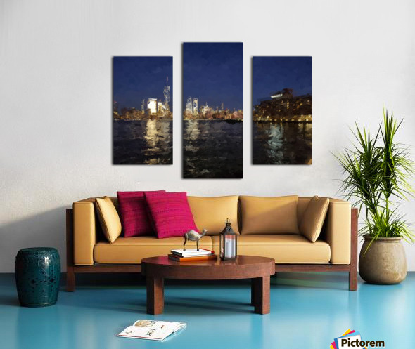 NYNight Canvas print