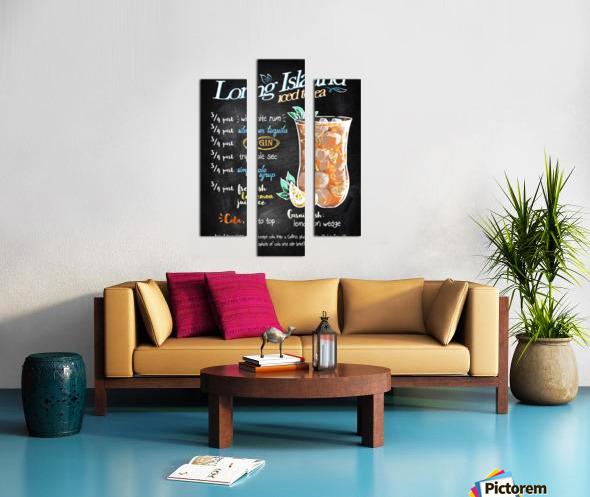 Long Island iced tea Canvas print