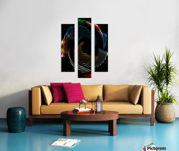 CYCLONE DREAMS Canvas print