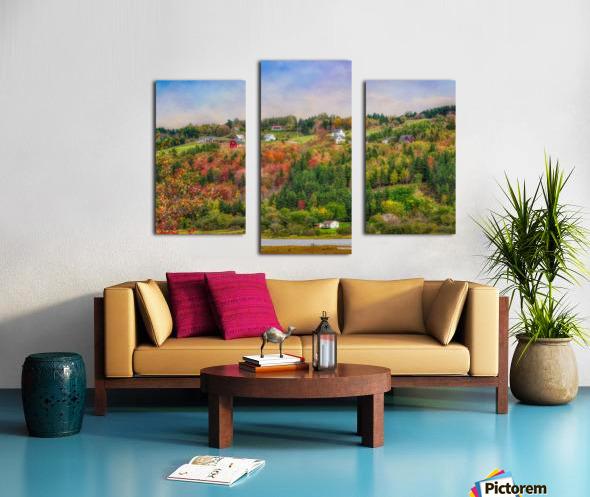 Arsenaults Hill Canvas print