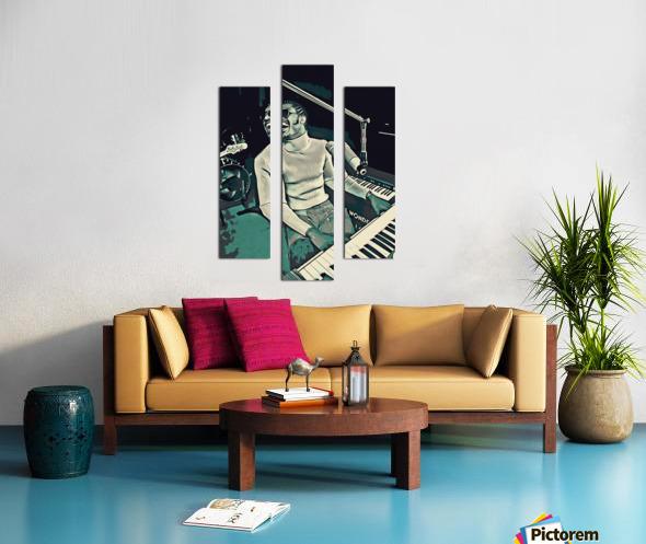 Stevie_Wonder_11 Canvas print