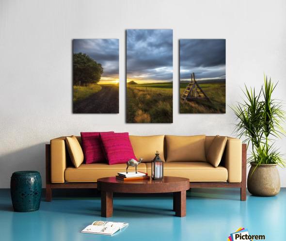 Markar Fiord Iceland Canvas print