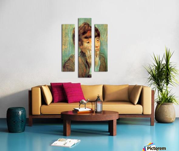 Portrait of a Lady by Degas Canvas print