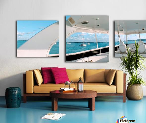 Bobbing in the Bahamas Canvas print