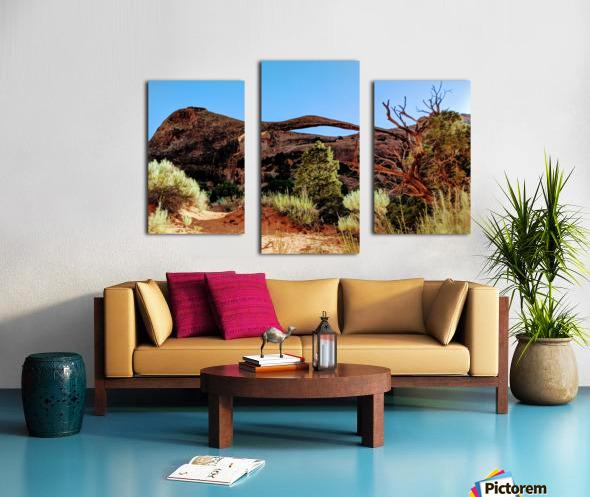 Landscape Arch I Canvas print