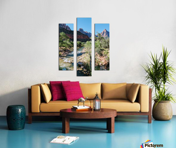 Zion in Morning Light Canvas print