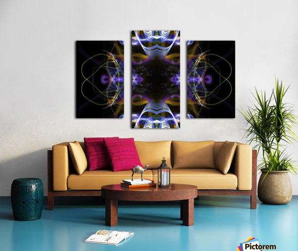 MOVING WINDOW Canvas print