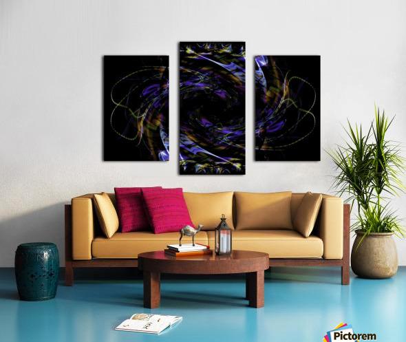 FLOWER OF FLUX Canvas print