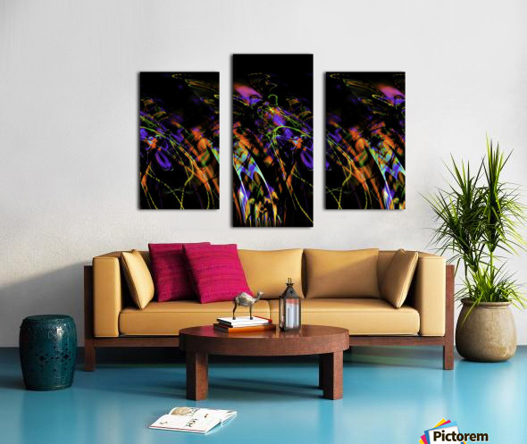 FLY FLUX Canvas print