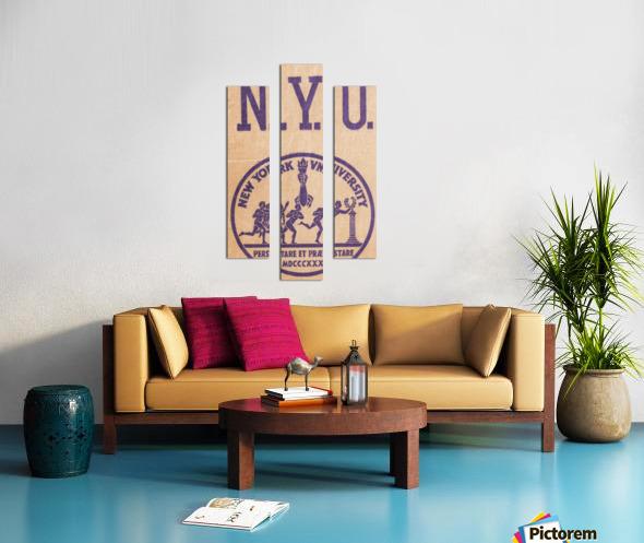 1950s NYU Art Canvas print