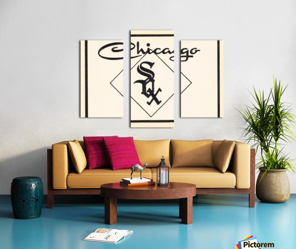 1961 Chicago White Sox Art Canvas print