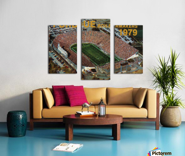 1979 Purdue Ross-Ade Stadium Art Canvas print