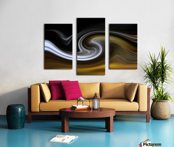 LAVAWAVE Canvas print