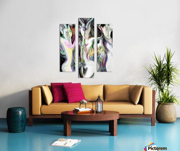 ME NAGE Canvas print