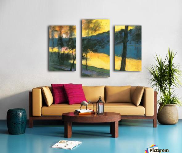 Landscape by Lesser Ury Canvas print