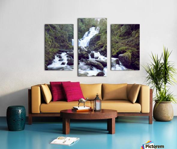Torc waterfall in Killarney National Park Canvas print