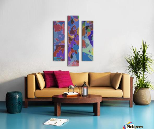 passive aggressions Canvas print