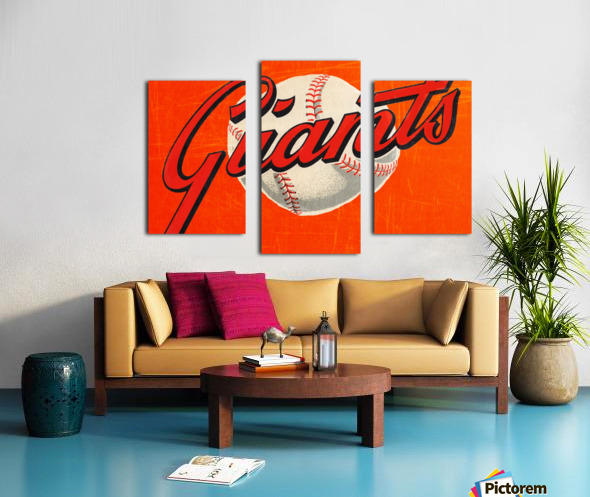1960s San Francisco Giants Art Canvas print