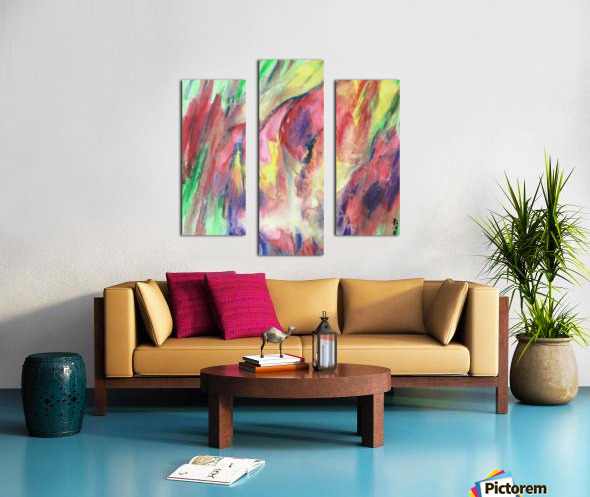 SH40 Imagination In The Heart  Canvas print