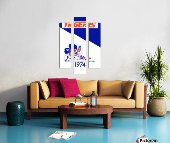 1974 Detroit Tigers Art Canvas print
