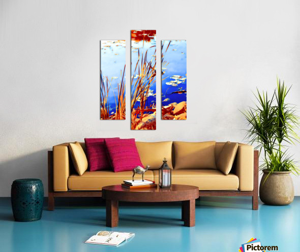 Reed Grasses  Canvas print