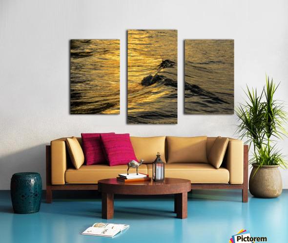 Lake Erie waves 9 Canvas print