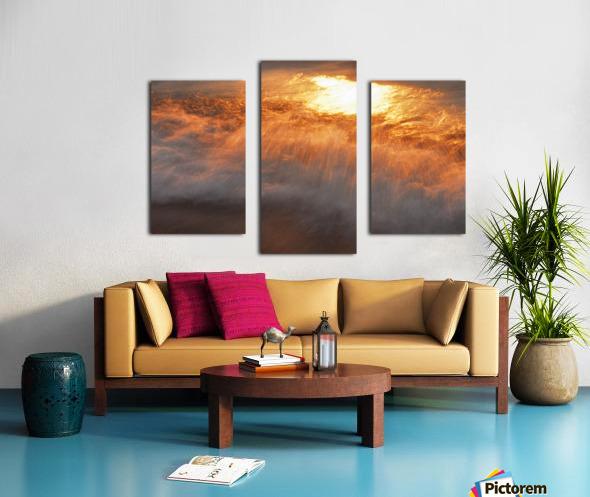 Lake Erie waves 8 Canvas print