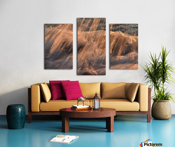 Lake Erie waves 7 Canvas print