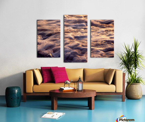 Lake Erie waves 6 Canvas print