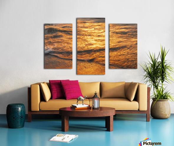 Lake Erie waves 5 Canvas print