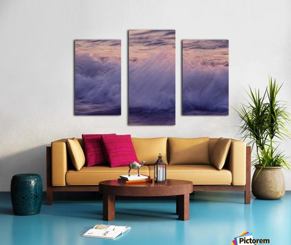 Lake Erie waves 4 Canvas print
