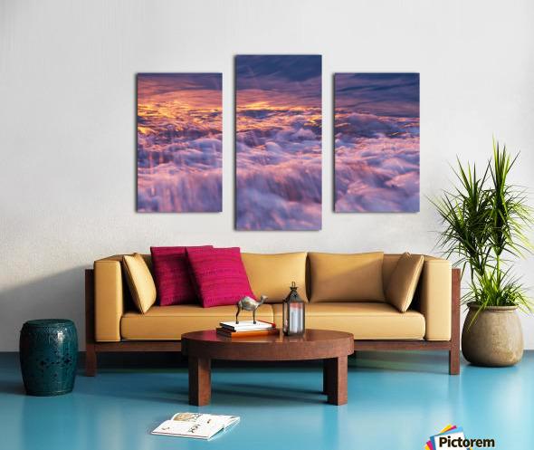 Lake Erie waves 3 Canvas print
