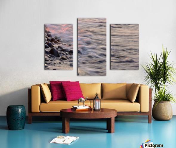 Lake Erie waves 2 Canvas print