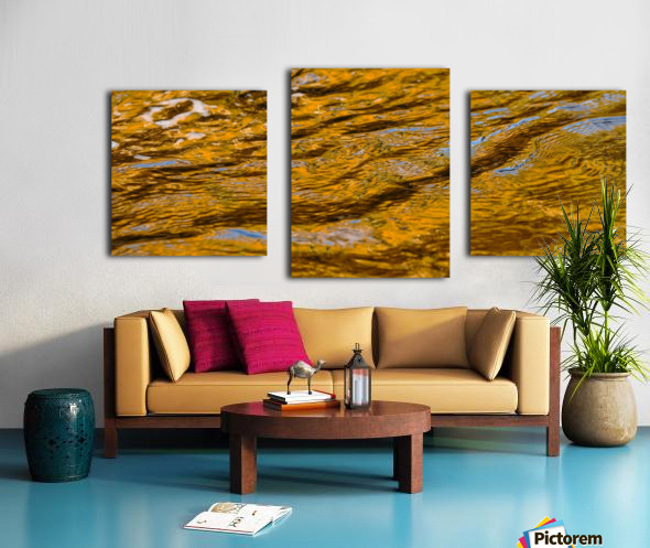 Flowing reflections 4 Canvas print