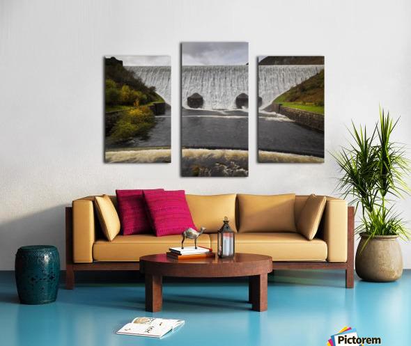 The Elan Valley dam Canvas print