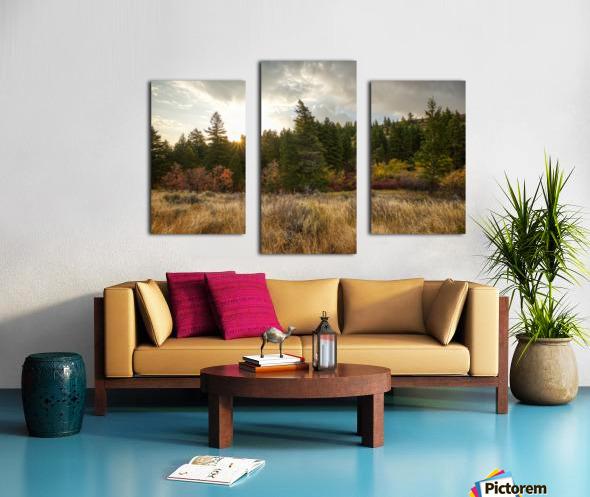 Gibson Jack Autumn Sunrise Canvas print