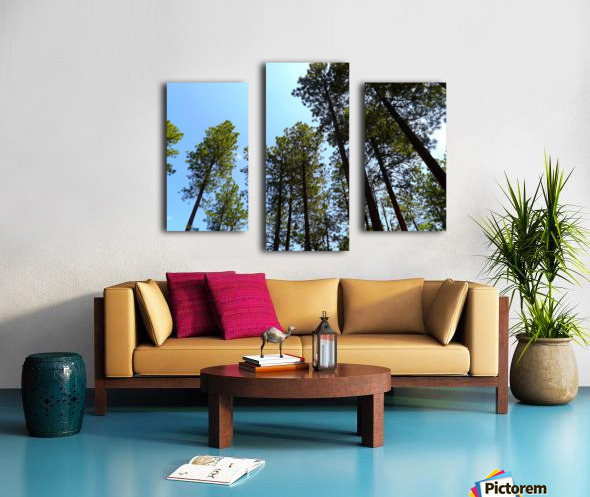 Blue Sky Impression sur toile