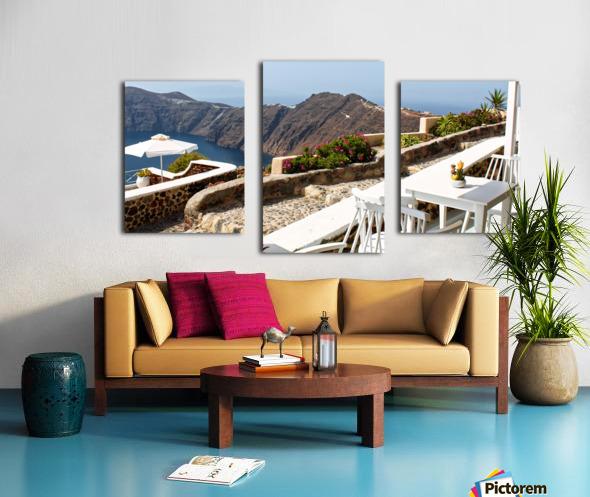 Romantic View Canvas print
