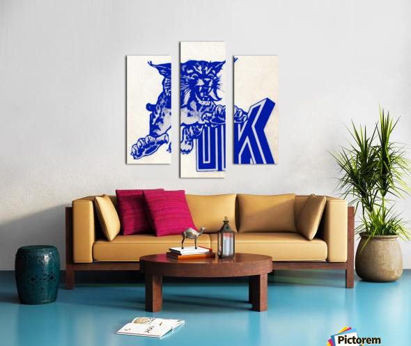 1970s kentucky wildcat Canvas print