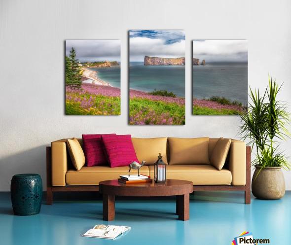 Baie de Perce Impression sur toile