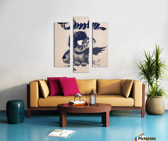1933  Rice Owls Football Canvas print