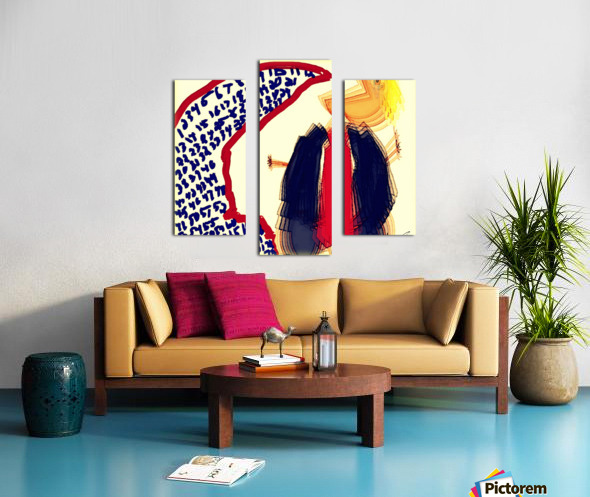 Subsequent Tantrums of a Neutered Fascist Canvas print