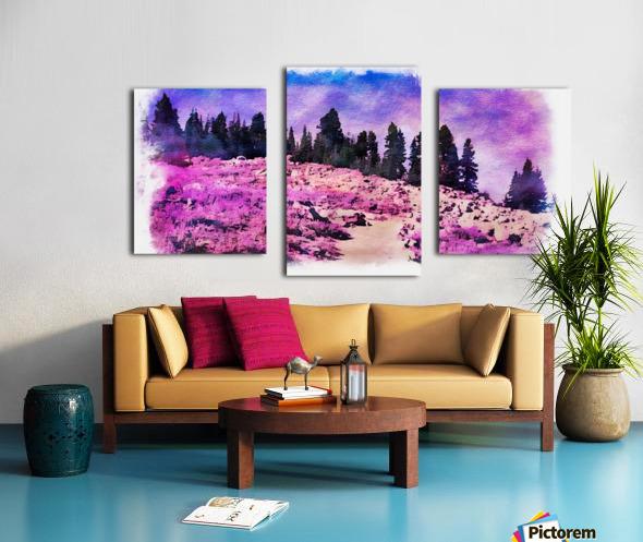 Lavender Field Canvas print