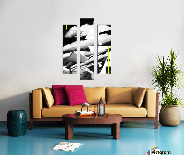 Art Spaces Canvas print