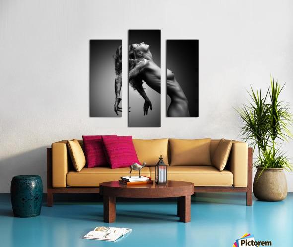 Nude woman fine art 22 Canvas print