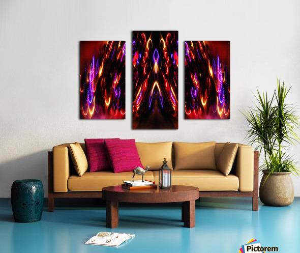 Lights15 Canvas print