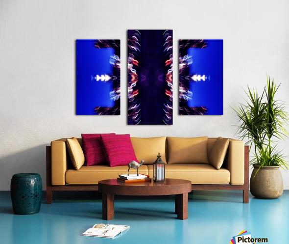 Lights47 Canvas print